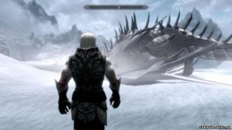 Призыв персонального снежного дракона